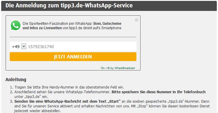 Tipp3 Whats App