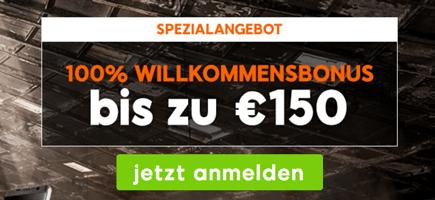 888sport 150€ Bonus Deutschland