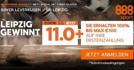 Wett-Special für Neukunden für Leverkusen gegen Leipzig