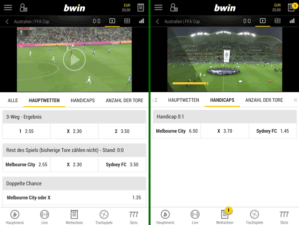 bwin app streaming
