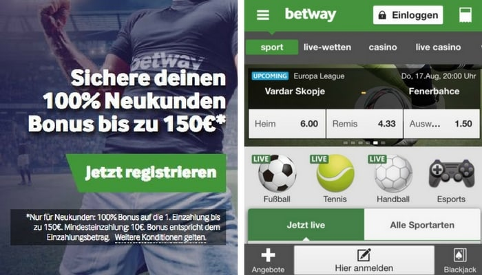 BetwayApp_Start