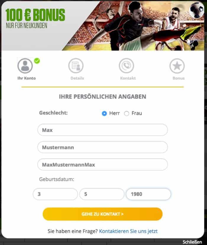 NetBet_Registerzwei