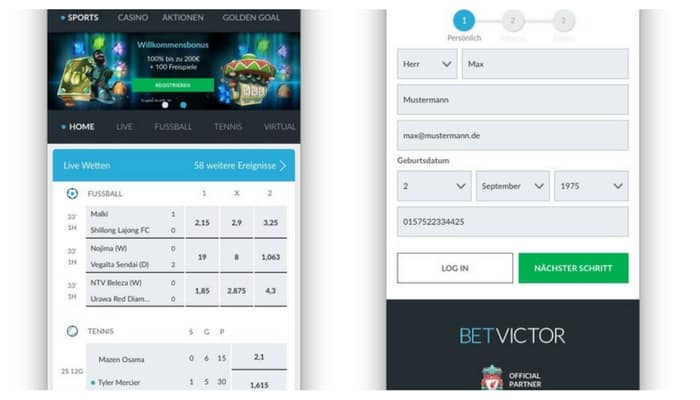 BetVictorApp_start