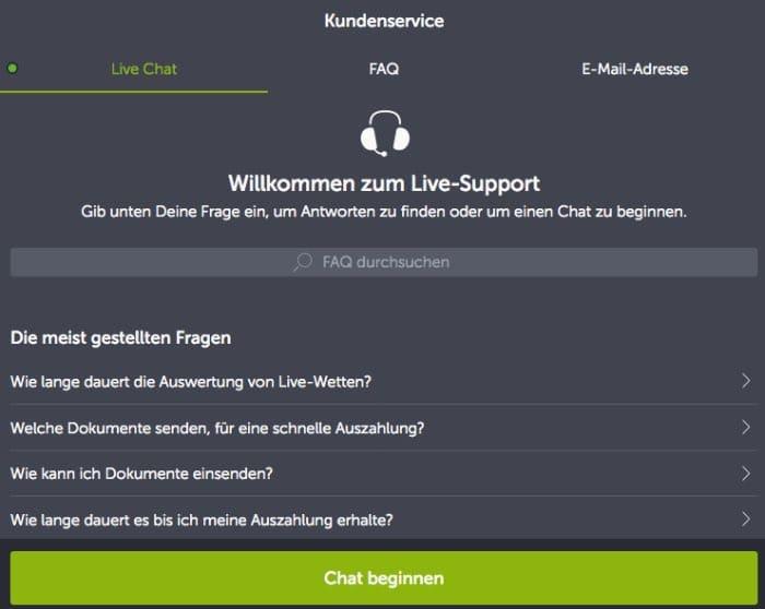 comeon_erfahrungen_support