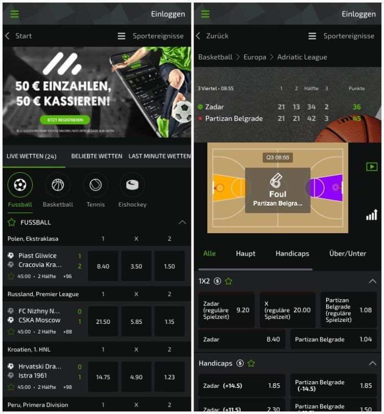 Mobilebet App