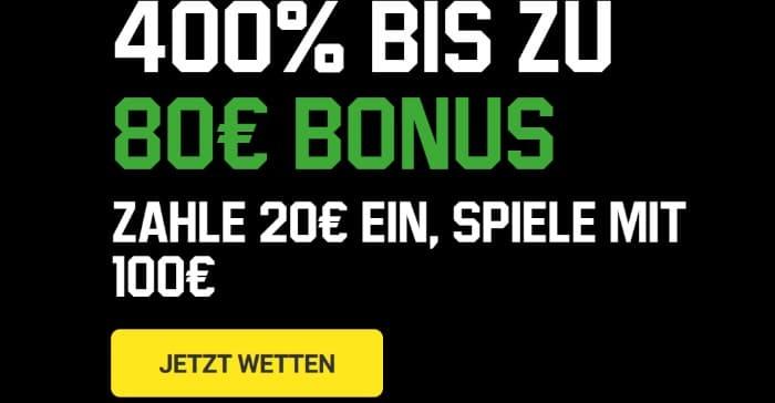 Unibet Sportwetten Bonus