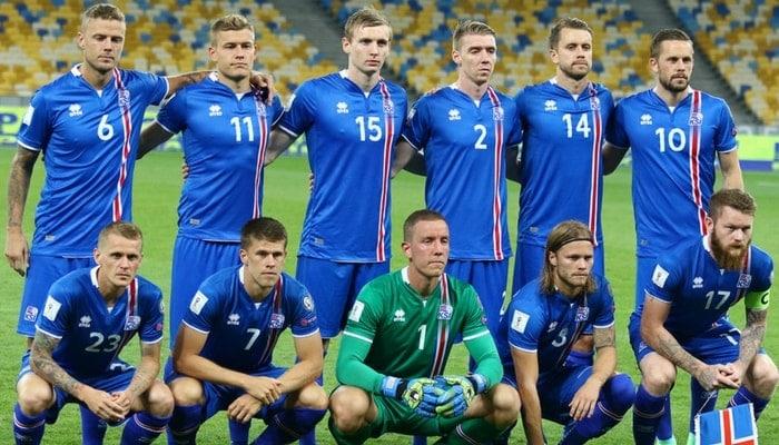 Island Nationalmannschaft Kader
