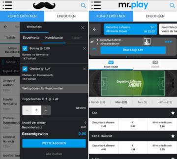 Sportwetten app 2020