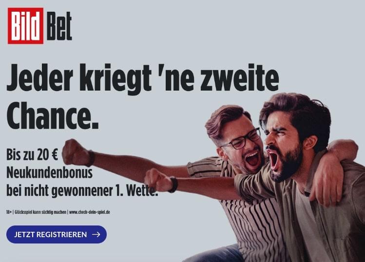 BildBet Willkommensangebot