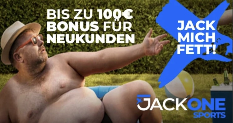 JackOne Neukundenbonus